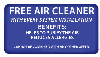 FREE Air Cleaner with every system installation! Call for Details (610) 268-2200 - Expires 12/29/2010